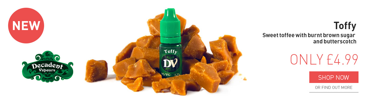 Decadent Vapours toffy